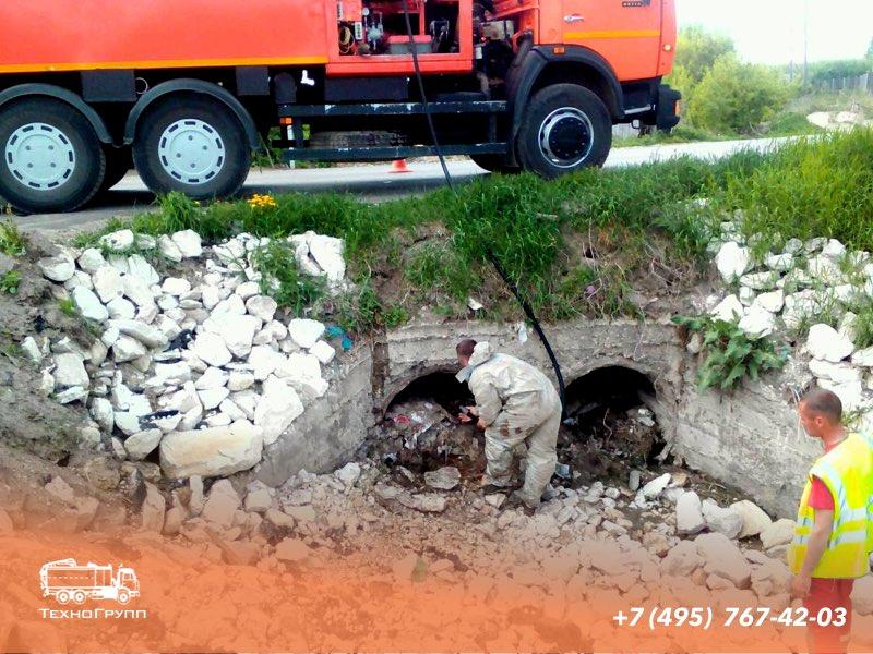прочистка промышленной канализации